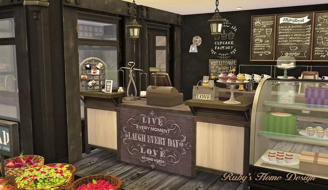 Deli Amp Grocery Store At Rubys Home Design Sims 4 Updates