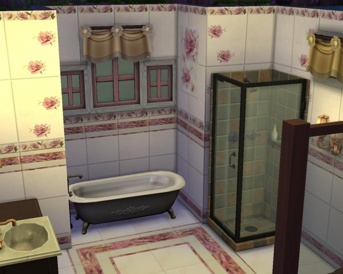 Melisa Roses Set Tile By AdeLanaSP At Mod The Sims Sims