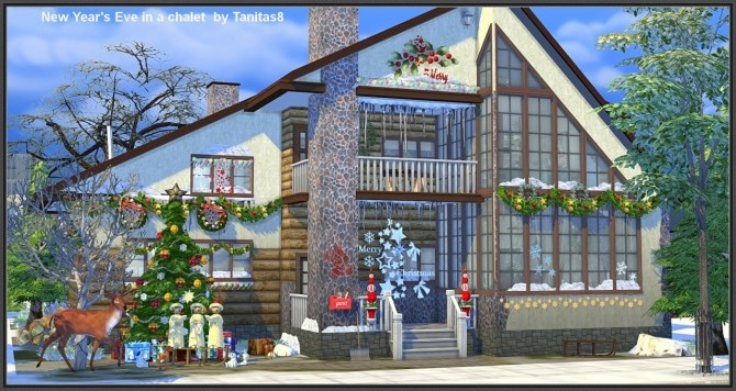 New Year S Eve In A Chalet At Tanitas8 Sims Sims 4 Updates