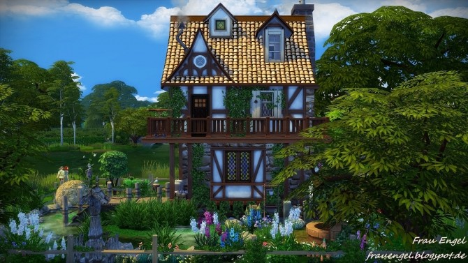 Witch House At Frau Engel Sims 4 Updates