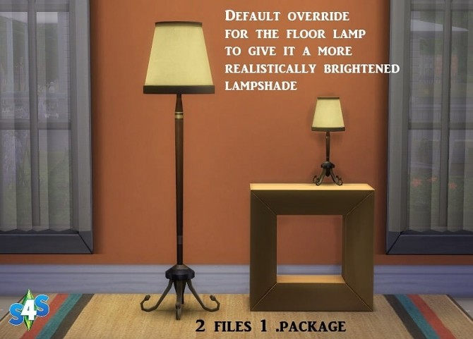 Floor And Table Lamp At Sims 4 Studio Sims 4 Updates