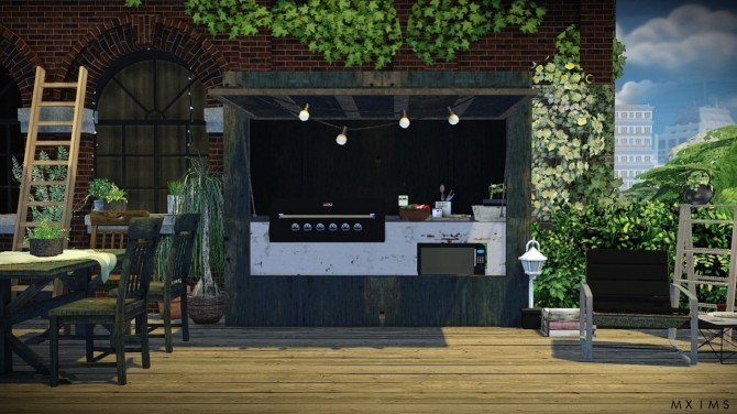 Outdoor Conversion Pack At MXIMS Sims 4 Updates