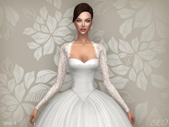 WEDDING DRESS CYNTHIA At BEO Creations Sims 4 Updates