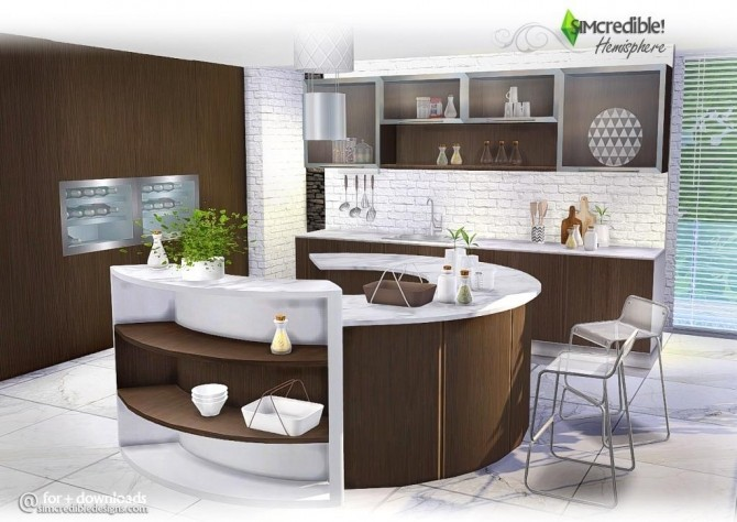 Kitchen Simcredible Designs 3424 Sims Updates
