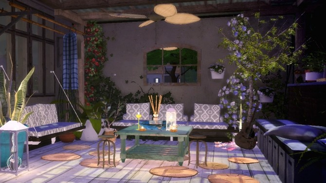 Terrasse 1 At Sims4 Luxury Sims 4 Updates