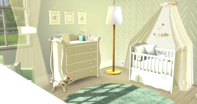 Tiny Boy Babyroom At Caeley Sims Sims 4 Updates