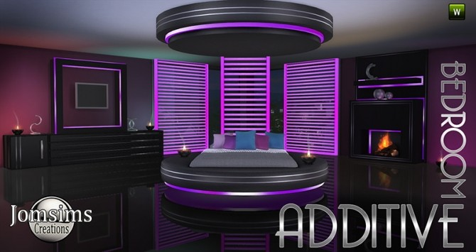 Additive Bedroom At Jomsims Creations Sims 4 Updates