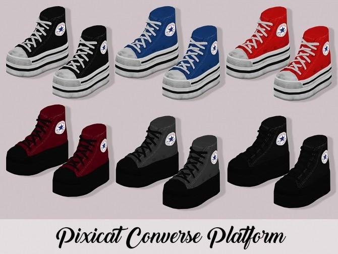 Pixicat Converse Platform At Lumy Sims Sims 4 Updates