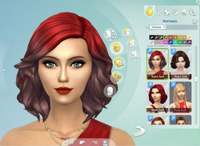 Medium Soft Wavy Ombre At My Stuff Sims 4 Updates