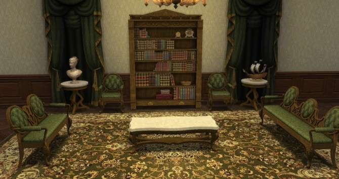 Victorian Set From TS3 By TheJim07 At Mod The Sims Sims