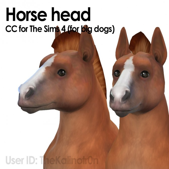 Horse Heads Big Dogs At Kalino Sims 4 Updates