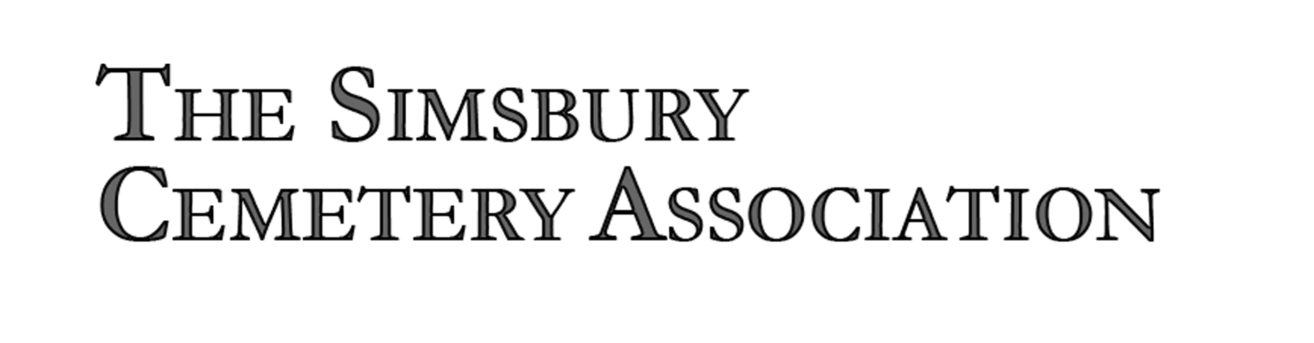 Logo for Simsbury Cemetery