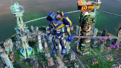 SimCity Cities of Tomorrow: Robot Disaster Gallery