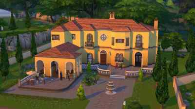 The Sims 4 - Updated Mansion Screenshot