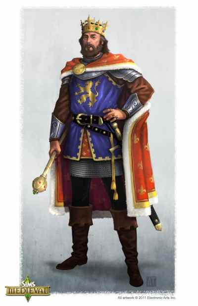The Sims Medieval Concept Art by Tony Trujillo