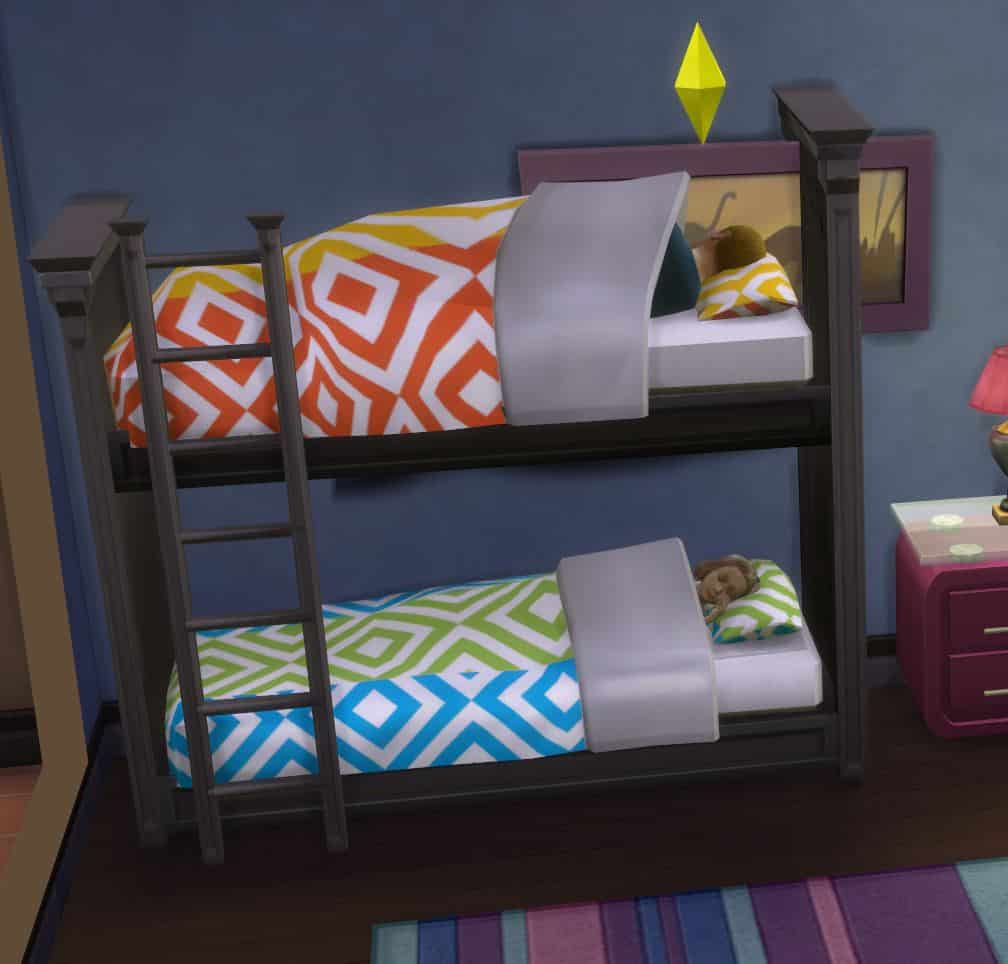 Custom Content Sims Bed 4