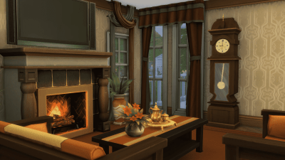 The Sims 4 Mod: Animated Grandfather's Clock