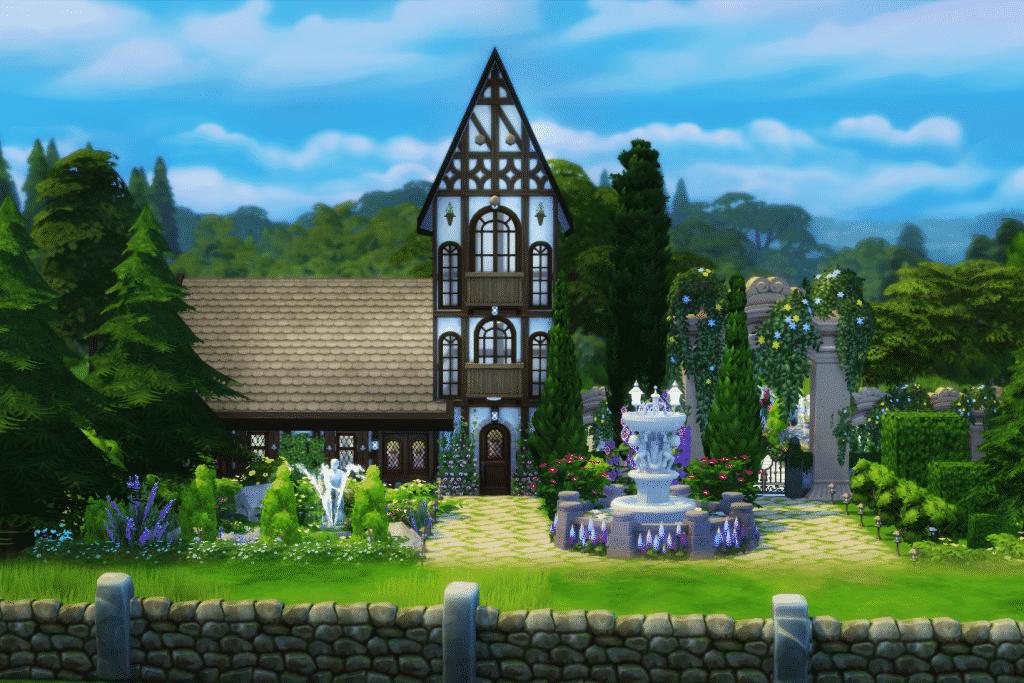How Build Garden Sims 4