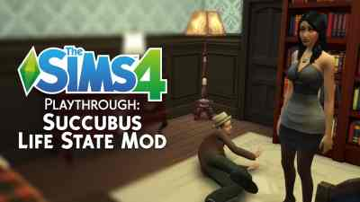 The Sims 4 Playthrough: Succubus Life State Mod
