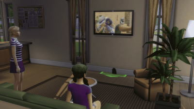The Sims 4 City Living Mod: Add Apartment Problems to any Lot!
