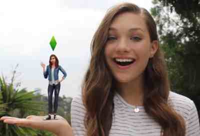 The Sims 4: Maddie Ziegler Video Ad + Official Sim Download