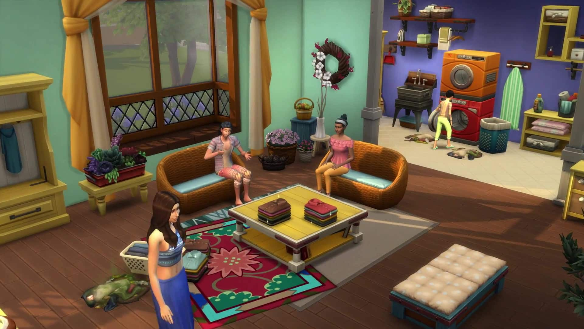 The Sims 4 Laundry Day Social Networks Giveaway