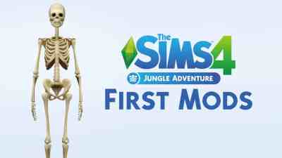 Here are the first mods for The Sims 4 Jungle Adventure