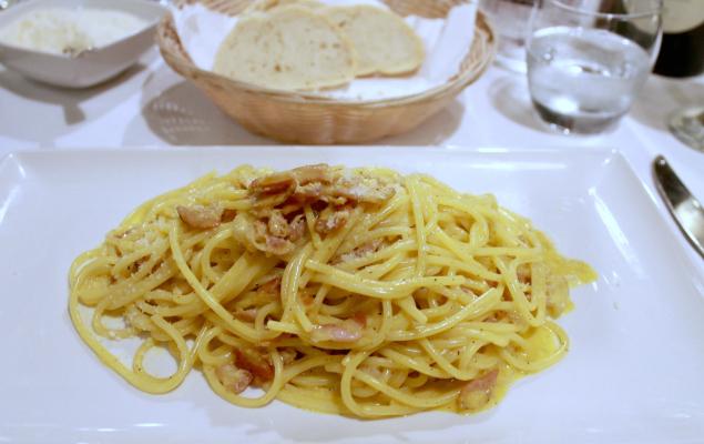 Senigallia Pasta Carbonara