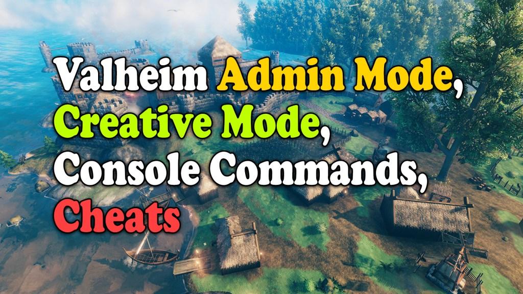 Valheim Creative mode