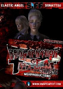 reincarnation of a vampire poster