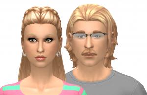 Young Nancy and Geoffrey Landgraab