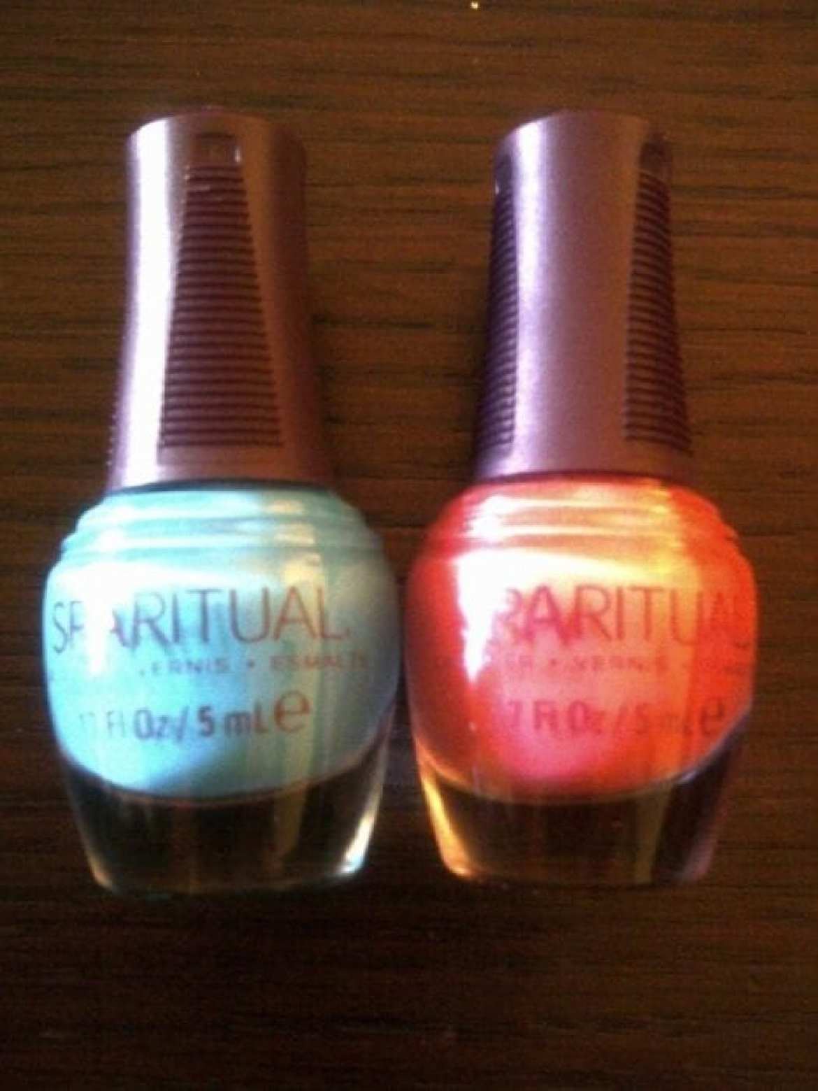 Sparitual Evolve Swatches Review: Water Collection Spring/Summer