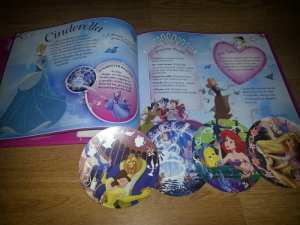 Disney Princess Augmented Reality Book