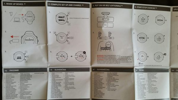Suunto Ambit 3 Instructions