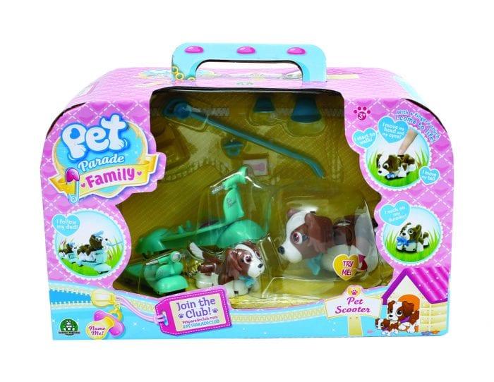 Pet Parade Family Scooter Playset