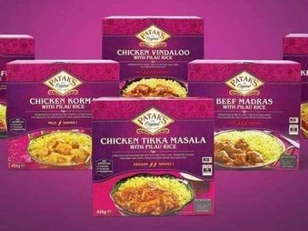 New Patak's Frozen Curry Range