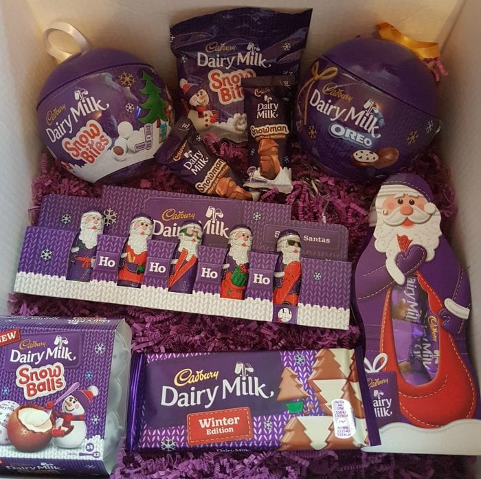 cadbury chocolate is totally synonymous with christmas you start to find that chocolate is available in the shape of father christmas snowmen
