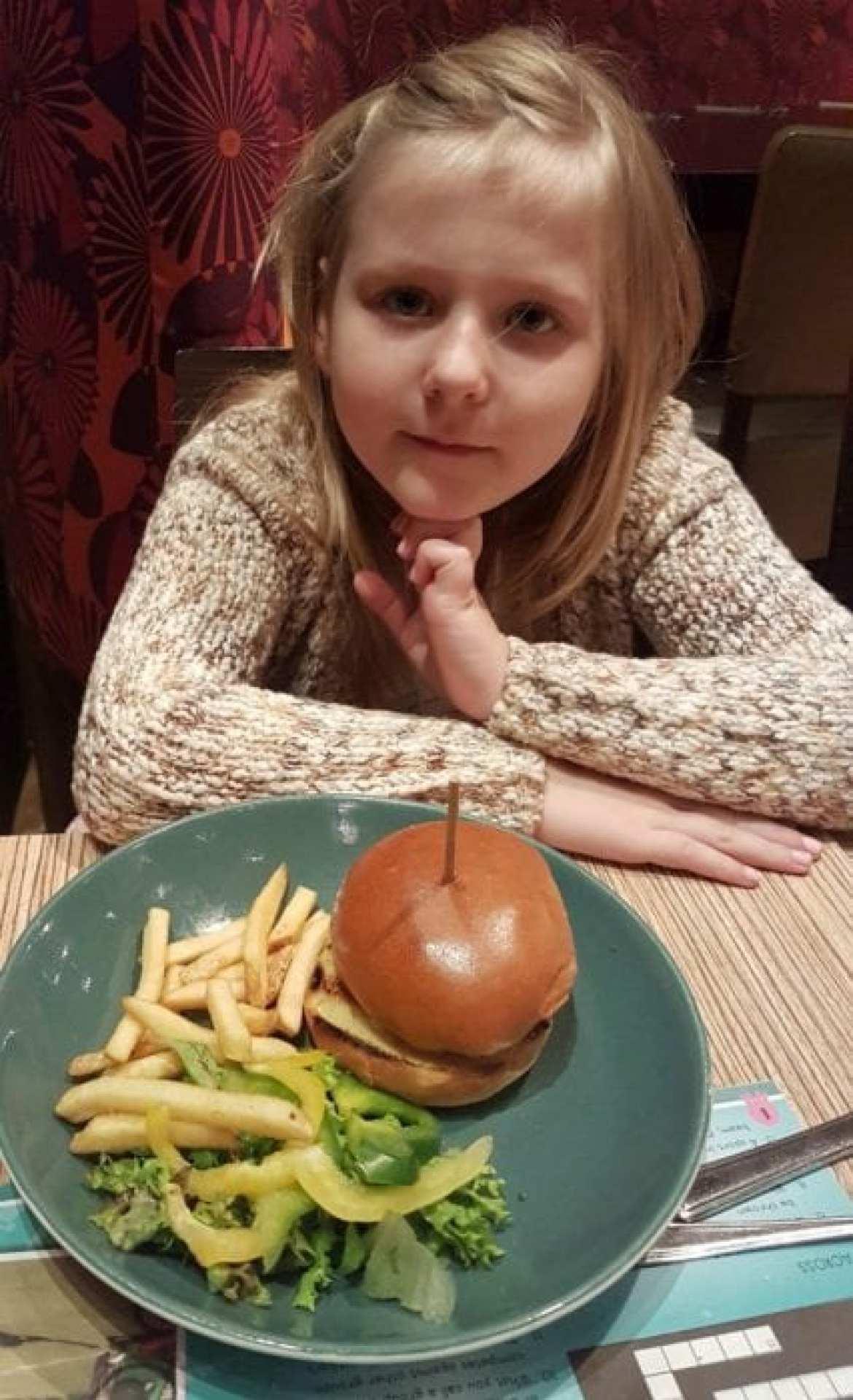 Las Iguanas Kids Burger