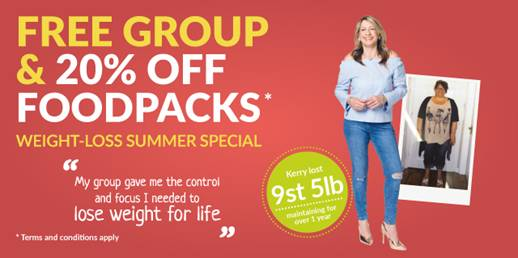 LighterLife Discount for Summer
