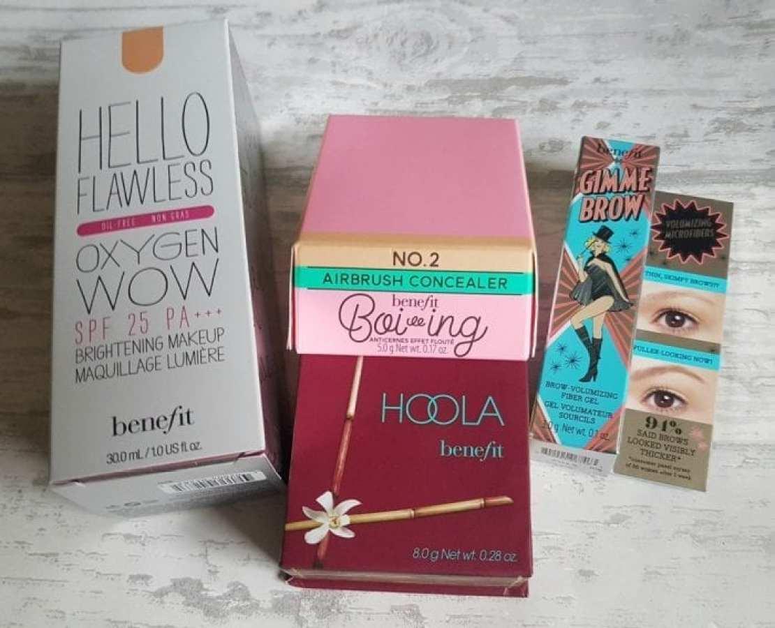 Benefit makeup haul