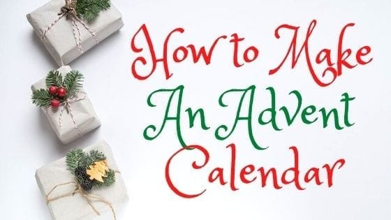 How to make your own Christmas Advent Calendar