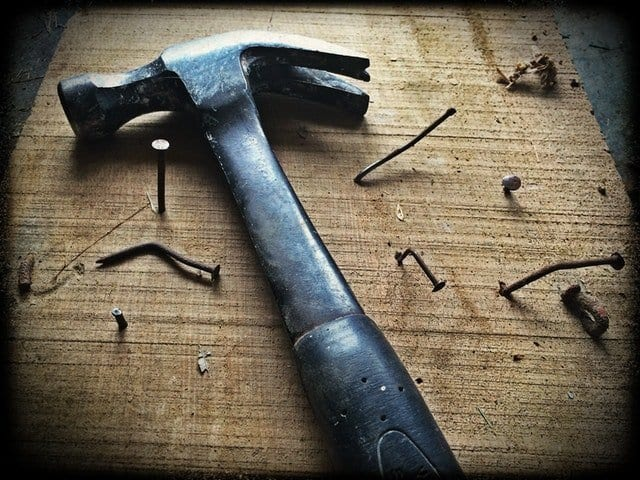Hammer-With-Nails-Home-Improvement
