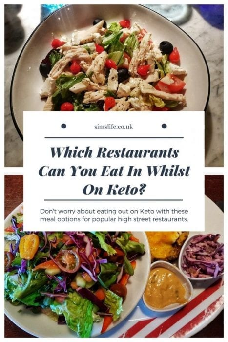 Eating Out Keto Options