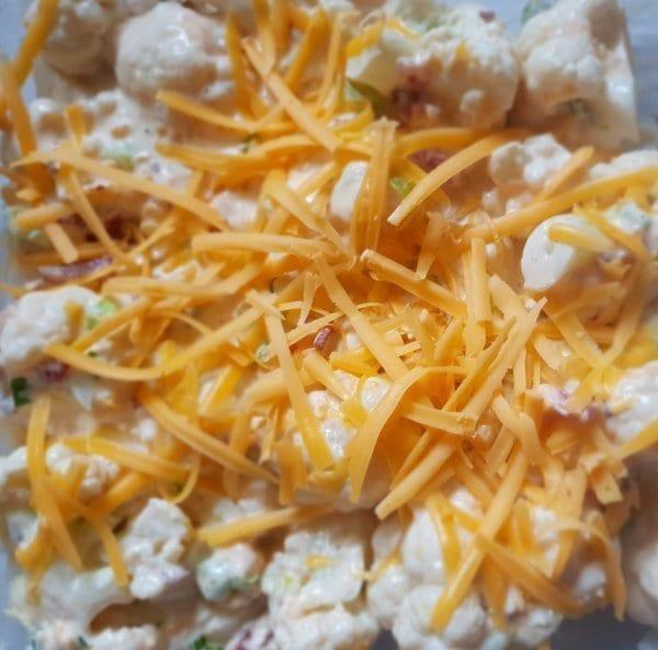 Keto Cauliflower Cheese