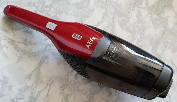 AEG cordless vacuum cleaner