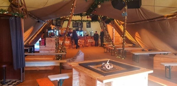 Alpine Village tent