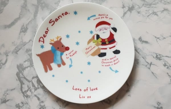 Born Gifted plate how to make mince pies