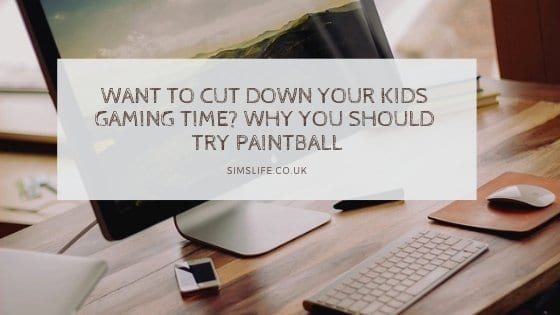 Want to Cut Down Your Kids Gaming Time? Why You Should Try Paintball