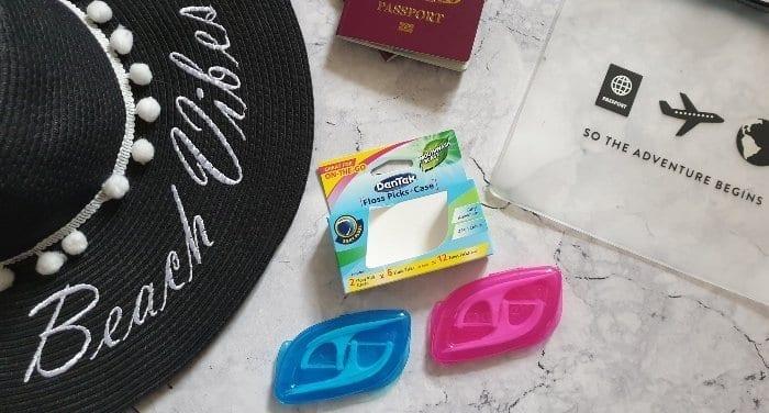 DenTek floss picks case for travelling