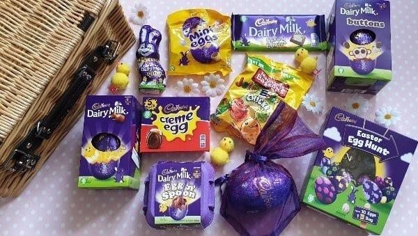 Easter chocolate treats